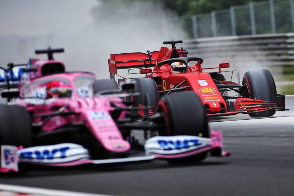 Lance Stroll Co Trapped Ferrari Also Battles Against Racing Point Fansbrands Formula 1 News